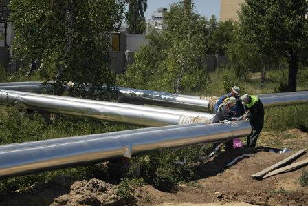 «Концессии теплоснабжения» Волгограда в рамках инвестпрограммы восстанавливают теплоизоляцию