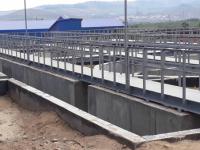 В Улан-Удэ завершили первый этап строительства правобережных очистных сооружений канализации
