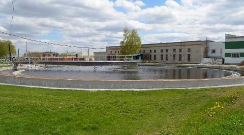 На очистных сооружениях канализации Барнаула завершена модернизация вторичного отстойника №1