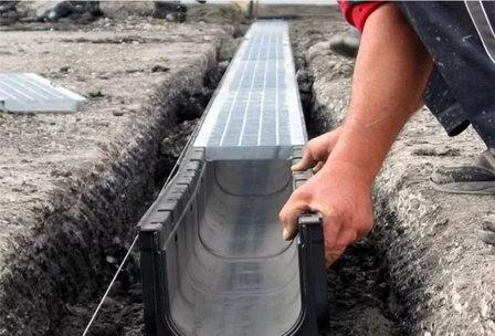 В Пензе начали обустраивать резервуар для системы ливнёвой канализации