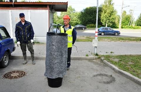 В Петрозаводске тестируется фильтр для очистки ливневых стоков на основе торфа