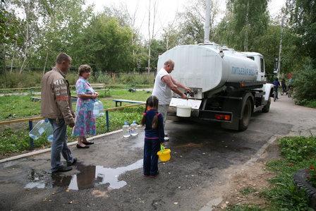 Автоцистерны с питьевой водой компании «НОВОГОР» оборудовали звуковым оповещателем