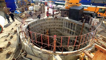 В Петербурге работы по строительству интервалов Охтинского тоннельного канализационного коллектора выполнены на 80 %