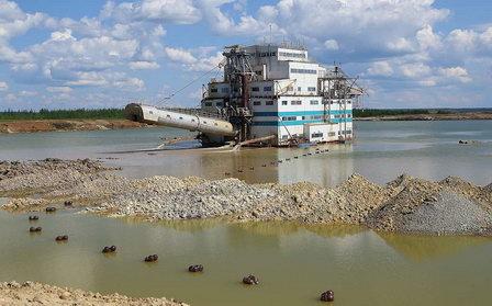 Водоёмы Якутии восстанавливают после ЧП с массовым сливом отходов алмазных промыслов