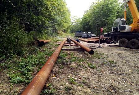 На Кубани приступили к строительству дублирующей нитки водопровода к поселку Верхнебаканский и селу Гайдук