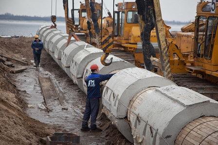 Восстановление аварийного коллектора сотрудники Нижегородского водоканала ведут без отключения канализования района