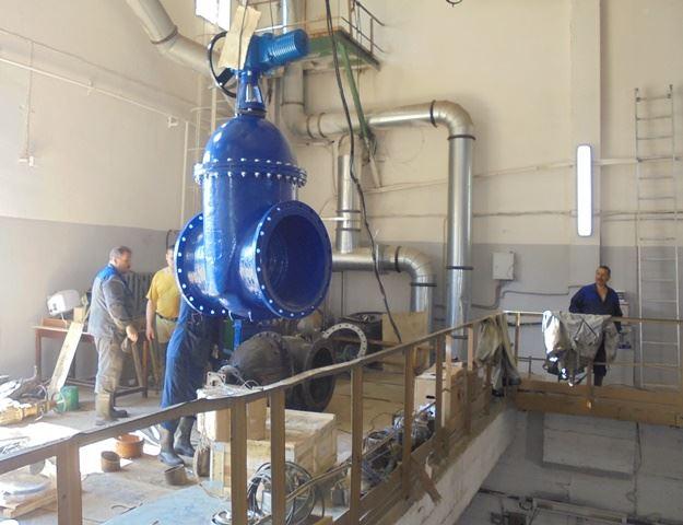 В Костроме началась реконструкция главной насосной станции канализации № 2