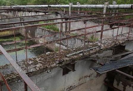 В пос. Победа Ленинградской области восстанавление очистных сооружений канализации начнется в 2019 году