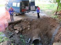 «НОВОГОР-Прикамье» обновляет аварийный участок канализационного коллектора бестраншейным методом