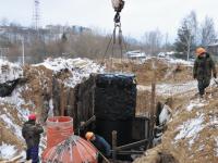 В г. Кирове к системе централизованной канализации подключен легкоатлетический манеж