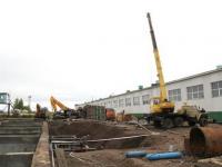 «РКС НОВОГОР-Прикамье» ведёт строительство сооружений очистки промывных вод  и утилизации шлама  на Чусовском водозаборе