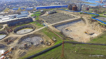 Под строительство очистных сооружений «Южные» в Севастополе выделен кредит полмиллиарда руб.