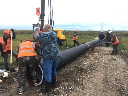 Компания «Востсибуголь» на строительстве очистных сооружений карьерных вод использует трубы из высокопрочного чугуна с шаровидным графитом