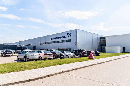 Более полумиллиона единиц продукции произведено на заводе «Грундфос Истра»