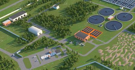 В Тюмени началось строительство единой станции для приема жидких бытовых отходов