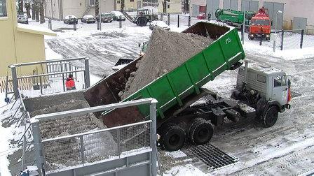 В Нижнем Новгороде введут три снегоплавные станции в 2019 году