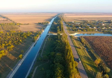 В восточной части Крыма началась подготовка к строительству водного канала