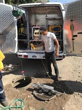 Робот-телеинспектор предотвратил назревавшую аварийную ситуацию на канализационном коллекторе в Улан-Удэ
