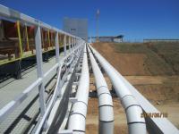 Трубопроводы на ГОКе компании «Еврохим - ВолгаКалий»  в Волгоградской области выполнили из многослойной трубы  повышенной износостойкости