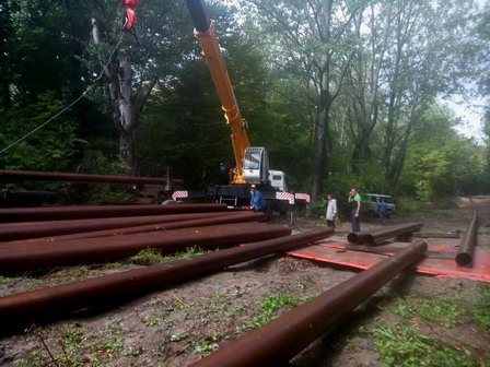 Специалисты управления «Троицкий групповой водопровод» проложили дублирующую нитку на аварийном участке магистрального водовода МВ-3 в Краснодарском крае