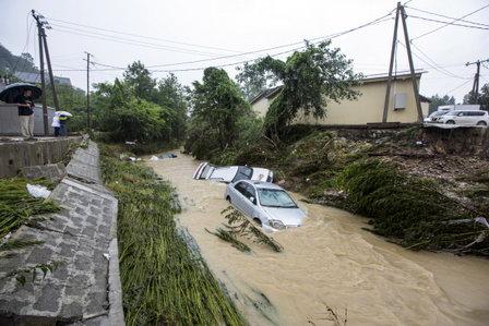 В Сочи восстанавливают инфраструктуру в пострадавших от паводка трех районах