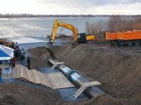 Две нитки передающего водопровода под судоходным каналом обеспечат Волгодонску устойчивое водоснабжение