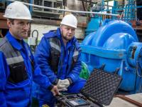«Концессии водоснабжения» Волгограда  обзавелись отечественным лазерным прибором для центровки насосных агрегатов