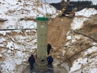 В Чебоксарах началось строительство станции биологической очистки сточных вод