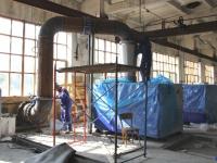 В г. Тамбове на очистных сооружениях канализации проведена реконструкция воздуходувной станции №2