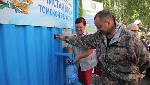 К концу 2019 года доступ к чистой питьевой воде получат 58% сельских жителей Томской области