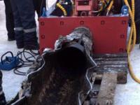 Специалисты «Калугаоблводоканала» протестировали трубный разрушитель НПК «Гидрофоб»