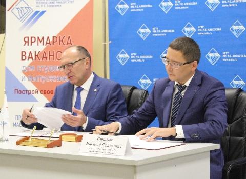 ОАО «Нижегородский водоканал» определило для себя второй опорный ВУЗ для кадрового пополнения