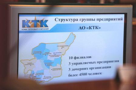 В деятельности АО «Коми тепловая компания» выявили  неэффективность принятых управленческих решений