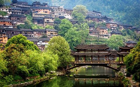 В китайской провинции Гуйчжоу в 2019 году Китае построят 60 водохранилищ