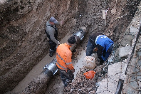 В Керчи в 2018 году на устранение аварий на сетях водоснабжения и водоотведения было потрачено более 200 млн. руб.