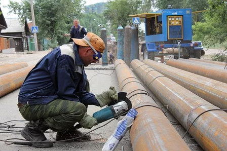 В филиале «Читинский энергетический комплекс» ПАО «ТГК-14» изготавливают скорлупы для изоляции теплосетей
