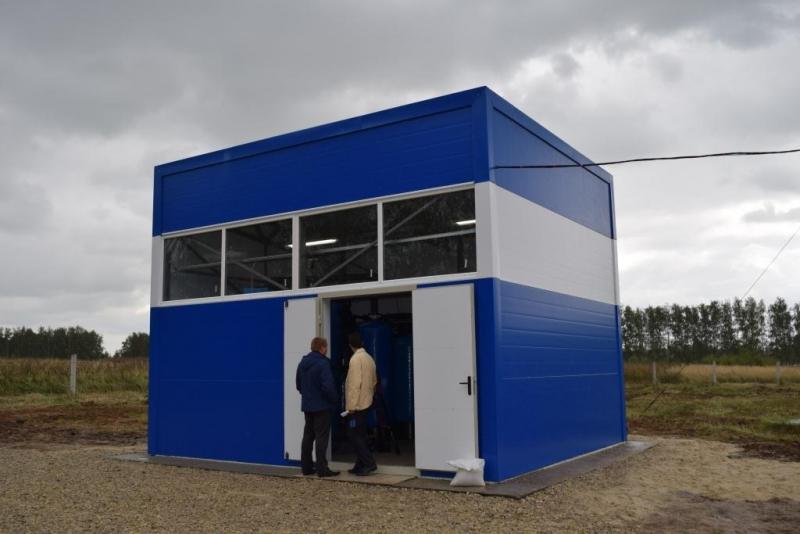 В Рязанской области в 2018 году станции очистки воды построили в пяти населенных пунктах