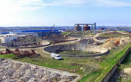 Строительство канализационных очистных сооружений 'Южные' в Севастополе будет продолжено