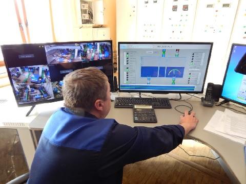 В МУП «Костромагорводоканал» автоматизирована работа фильтров второго блока насосно-фильтровальной станции
