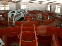 На фильтровальной станции Большекамского водозабора Перми реконструировали осветлитель - рециркулятор