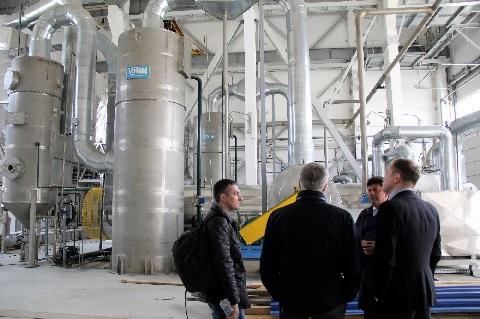Специалисты итальянской VOMM обследуют в Сочи оборудование для сушки осадка сточных вод