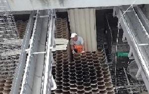 Внедренные на вторичных отстойниках в Ростове-на-Дону модули ячеистой конструкции показали высокую эффективность