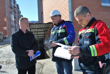 Специалисты сервисного центра СГК в Бийске обследуют энергоэффективность потребления тепловых ресурсов