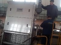 На Коркинских очистных сооружениях канализации г. Костромы устанавливаются механические решетки от «ЭТЕК»