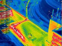 «Удмуртские коммунальные системы» применят тепловизионную аэрофотосъемку для диагностики состояния теплосетей Ижевска
