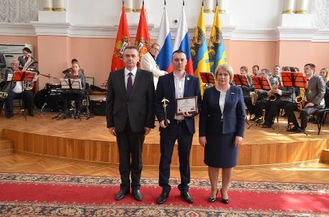 Мастер ООО «Оренбург Водоканал» Алексей Рябов признан в Оренбурге человеком года