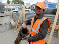 В Южно-Сахалинске обнаружили и решили дальше использовать деревянный японский водопровод