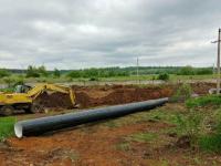 В пос. Шатск в Туле реконструируется система водоснабжения