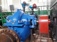 РЭУ «Троицкий групповой водопровод» установило на насосной станции четвертого подъема насосы SBS