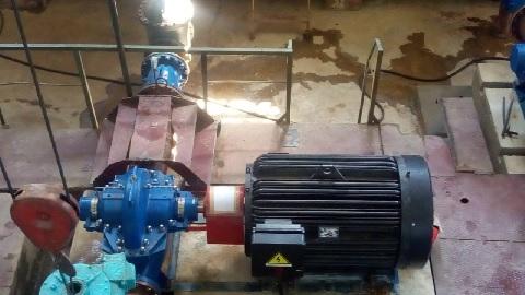 В РЭУ «Таманский групповой водопровод» устанавливают новое насосное оборудование